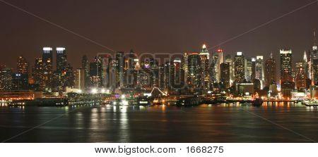 Manhattan Mid-Town Skyline