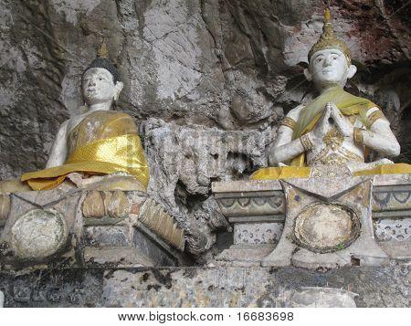 Thai Budd-ism Monk Statue