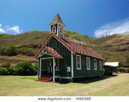Rural Hawaiian Church