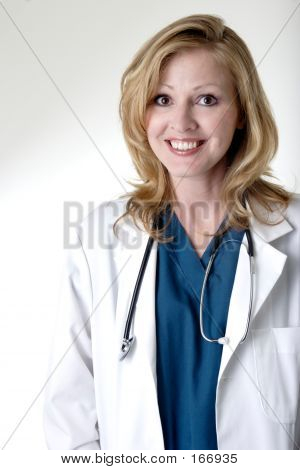 Happy Lady Doctor