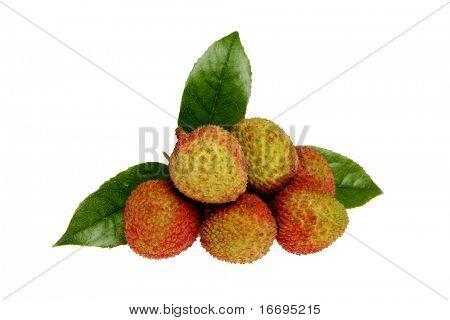 Nahaufnahme des chinesischen Obst litchi