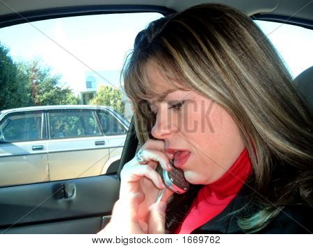 Lady On The Telephone