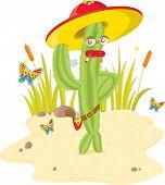 picture of sherif  - cactus man  - JPG