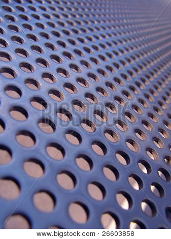 Blue-steel mesh background