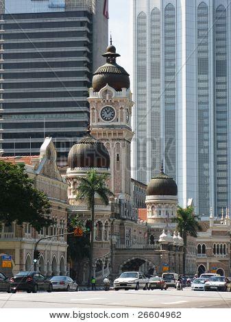 Supreme court, Sultan Abdul Samad building in Kuala Lumpur, Malaysia