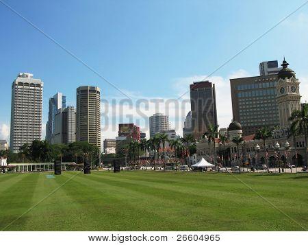 Dataran Merdeka (Independence square) in Kuala Lumpur, Malaysia
