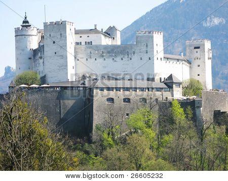 Hohensalzburg fortress. Salzburg, Austria
