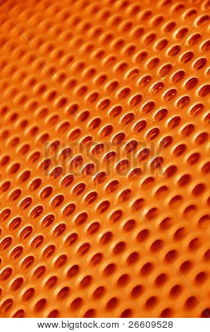 Red hot metal mesh