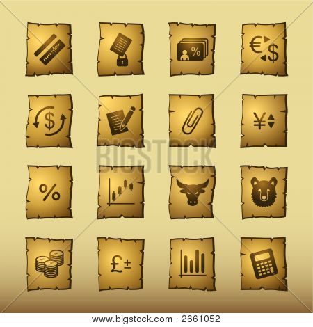 Papyrus Finance Icons