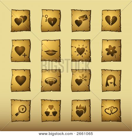 Papyrus Love Icons