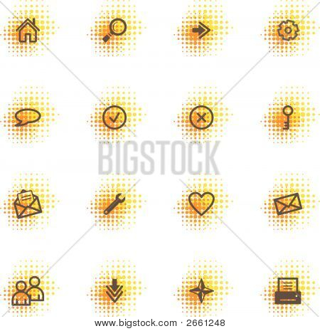 Web Icons, Dots Series