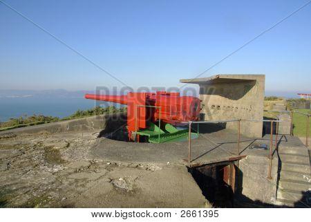 Gun At Dunree Fort