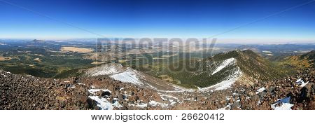 Mount Humphreys Panorama