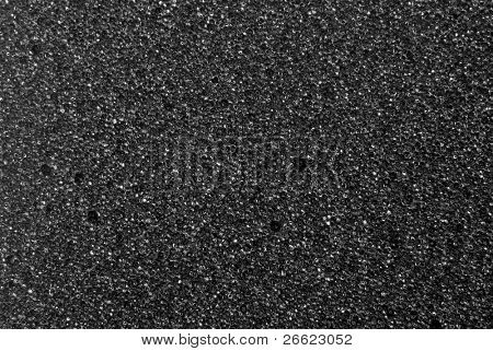 background cell of plastic foam black white