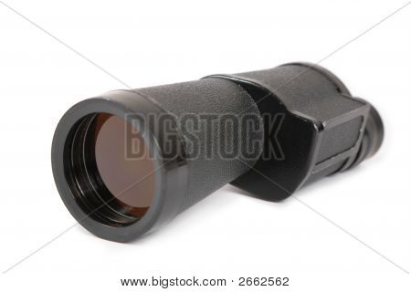 Old Monocular Isolated On White