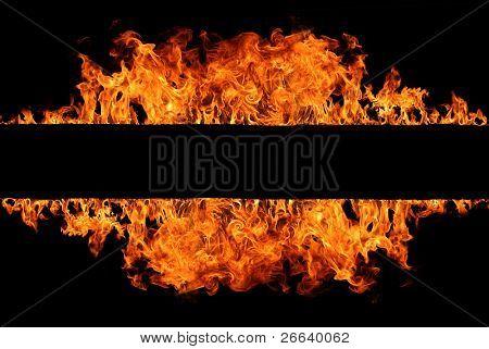 Raya de fuego