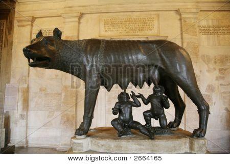 Römische Wölfin