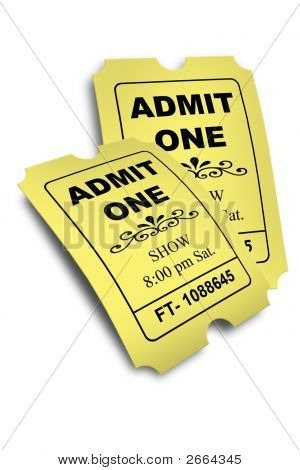 Admission Tickets 2