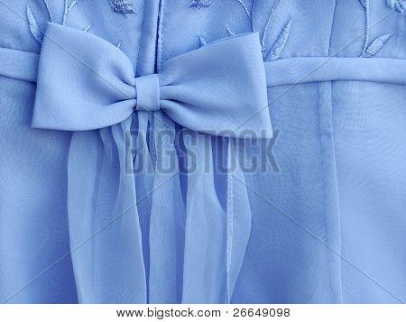 Lavender dress bow