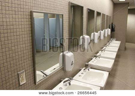 Sinks and mirrors