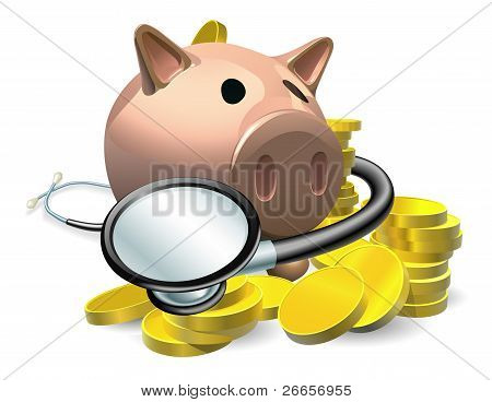 Financial Health Check Concept