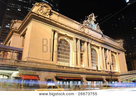 Exterior of Grand Central Terminal in New York City.