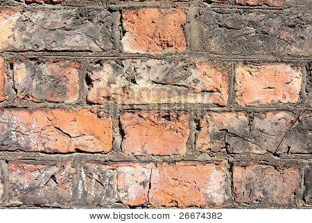 Gritty Brick Background.