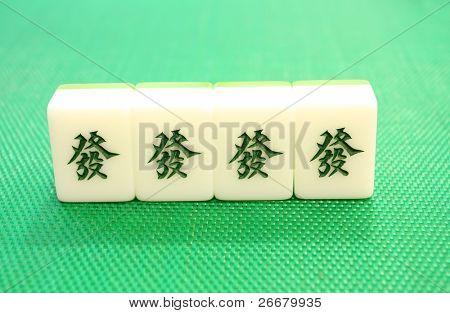 tiles of mahjong