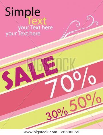 Verkauf-poster