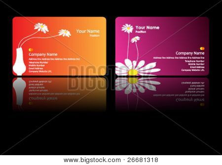 vector business card set - eps10 format