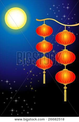 Background of Mid-Autumn Festival