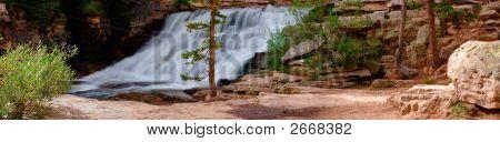 Provo River Falls Panorama