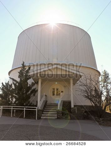 A View Of The Clark Telescope Dome