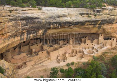 Ancient Ruins Of Cliff Palace