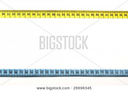 Tape measure bordering