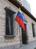 stock photo of bolivar  - House of Bolivar in Caracas - JPG