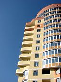 foto of vinnitsa  - A modern apartments building viewed from an vinnitsa