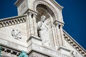 Basilica Coeur Sacre On Montmartre poster