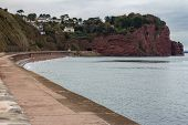 Smugglers Cove Near Teignmouth poster