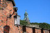 Lantern Of Wawel Castle. Krakow. Poland. poster