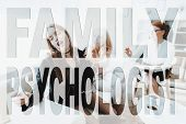 Difficult Teeneger. Family Problem. Conflict Between Mother And Daughter. Mom And Daughter At Psycho poster