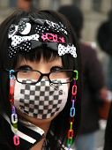 TOKYO - MARCH 25: Every Sunday each week, teens and young adults meet in Harajuku to show off a vari