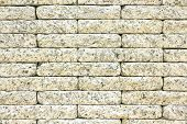 stock photo of stone floor  - Stone wall  - JPG