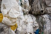 Waste products are recycled during recycling (waste recycling)Or their starting materials are conver poster