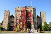 stock photo of hever  - Historic Hever Castle and Gardens with its enchanting double - JPG