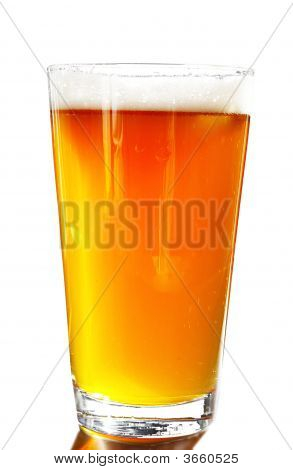 Beer Glass White