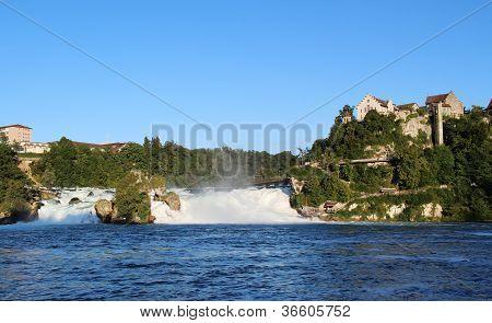 Rhinefall in summer