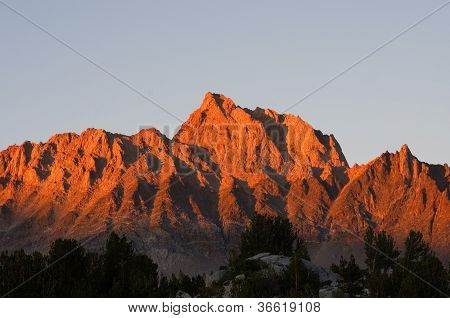 Mount Humphreys Sunset