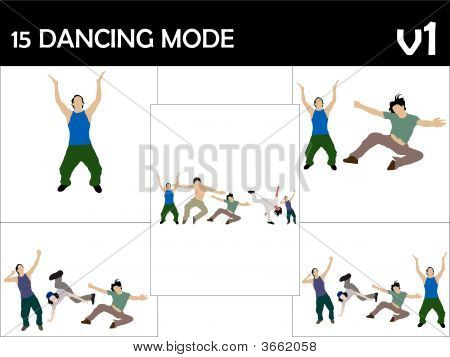 Rocking Male Dancers