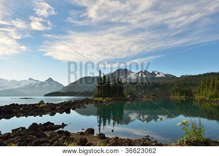 Garibaldi Lake In The Morning